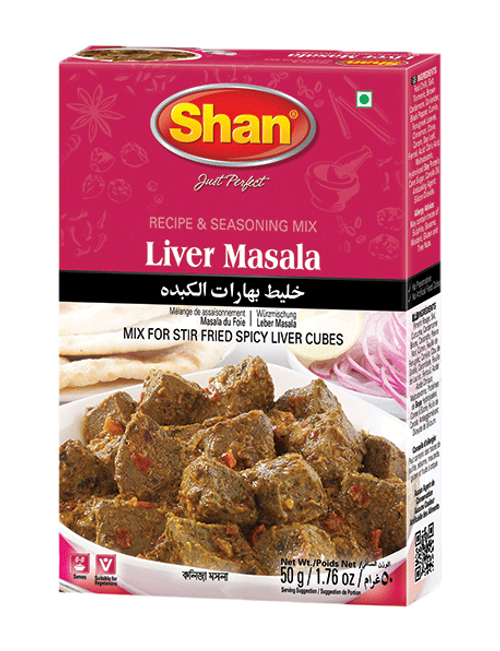 Shan, LIVER CURRY MIX - 50gm