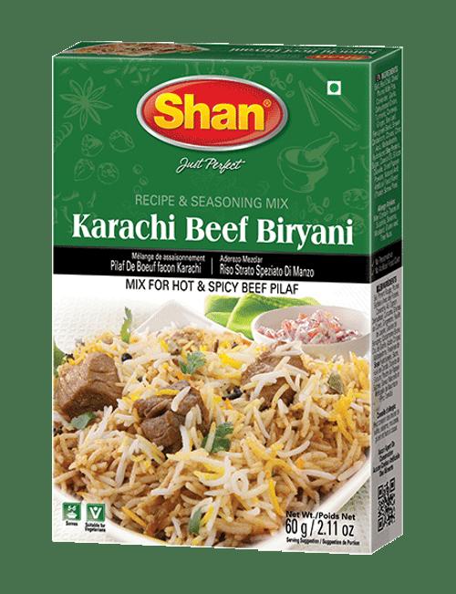 Shan, KARACHI BEEF BIRYANI MIX - 60gm
