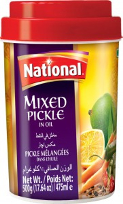 National Foods, Mixed Pickle - 2.2lb