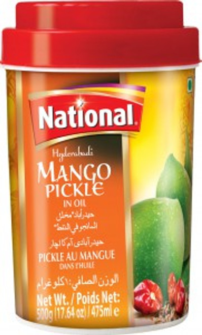 National Foods, Hyderabadi Mango Pickle - 2.2lb