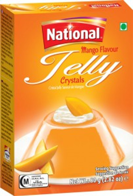 National Foods, Jelly Crystal Mango - 80gm