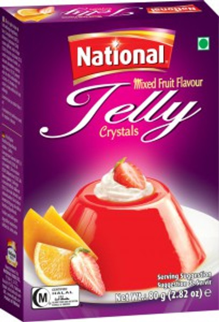 National Foods, Jelly Crystal Mixed Fruit - 80gm