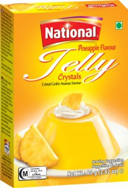 National Foods, Jelly Crystal Pineapple - 80gm