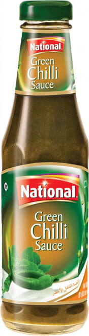 National Foods, Green Chilli Sauce - 300gm