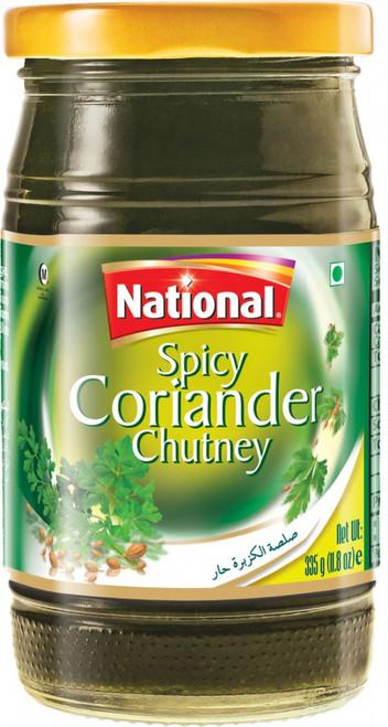 National Foods, Spicy Coriander chutney - 335gm