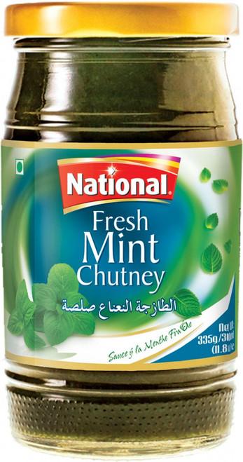 National Foods, Fresh Mint chutney - 390gm