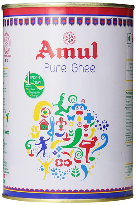 Amul, Pure Ghee (Clarified Butter) - 1L (905g)