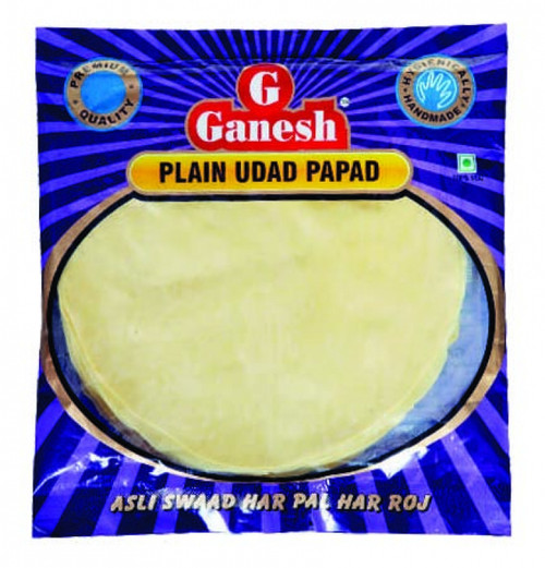 Ganesh, Plain Udad Papad - 200gm