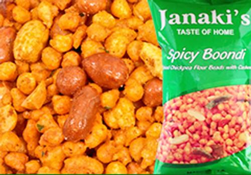 Janaki's,  Spicy Boondi - 7oz