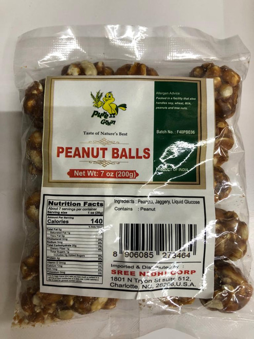 Pure Grain,  Peanut Balls - 200gm