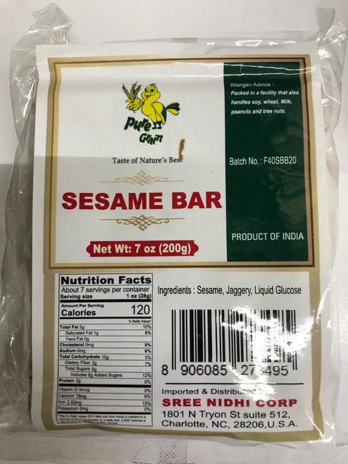 Pure Grain,  Sesame Bar  - 200gm