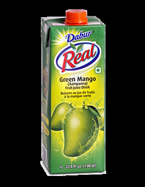 Dabur Green Mango (Aam Panna) Drink  - 1 ltr