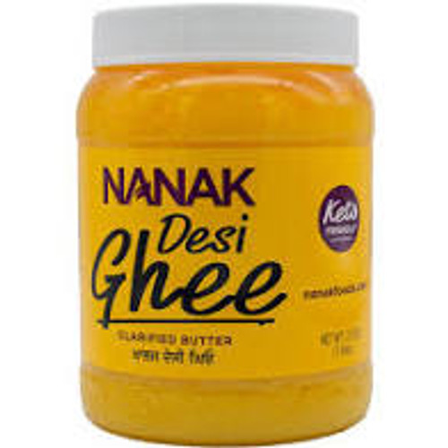 Nanak, Pure Desi Ghee (Clarified Butter) - 28oz