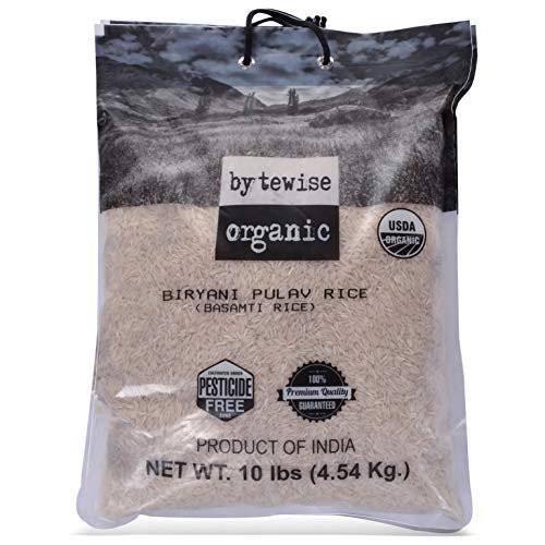 Bytewise, Organic Biryani Pulav Rice - 3.5lb