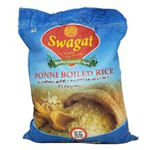 Swagat Ponni Boiled Rice - 20LB