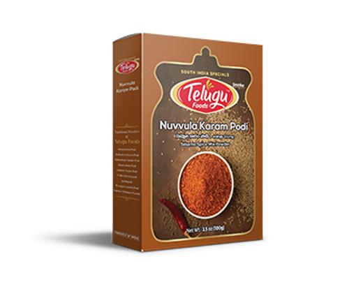 Telugu Foods, Nuvvula Karampodi - 100gm