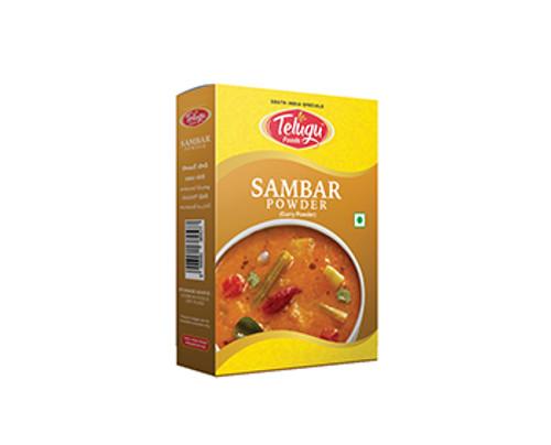 Telugu Foods, Sambar Masala - 100gm