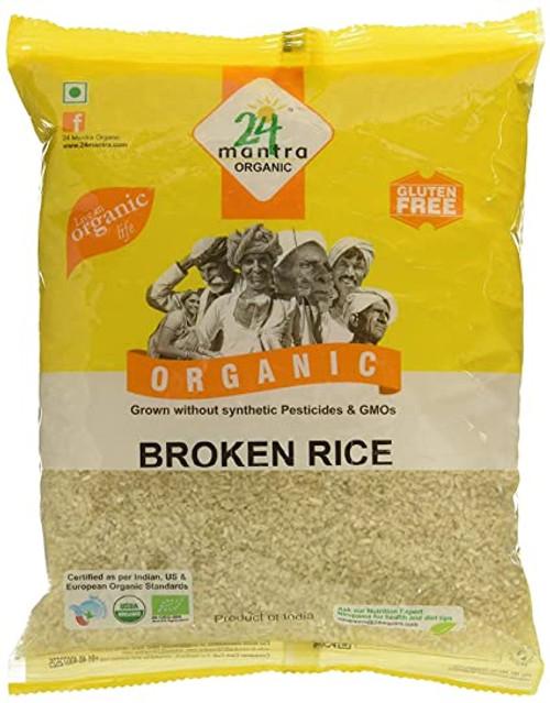 24 Mantra, Organic Broken Rice - 4 Lbs
