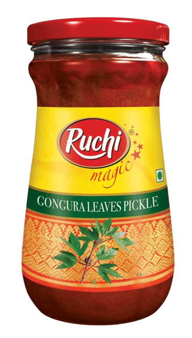 Ruchi, Gongura Leaves Pickle- 300g