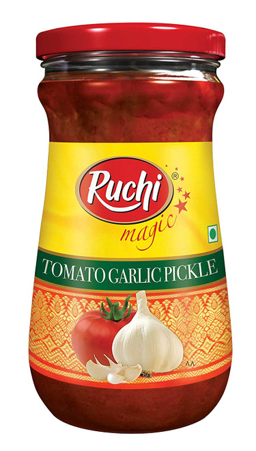 Ruchi, Tomato Garlic Pickle- 300g