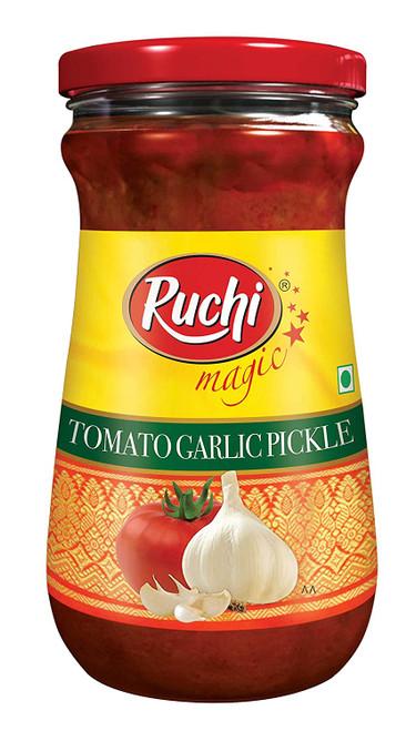 Ruchi, Tomato Garlic Pickle- 300g