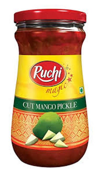 Ruchi, Cut Mango Pickle- 300g