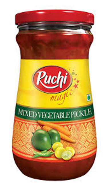 Ruchi, Mixed Vegetable Pickle- 300g