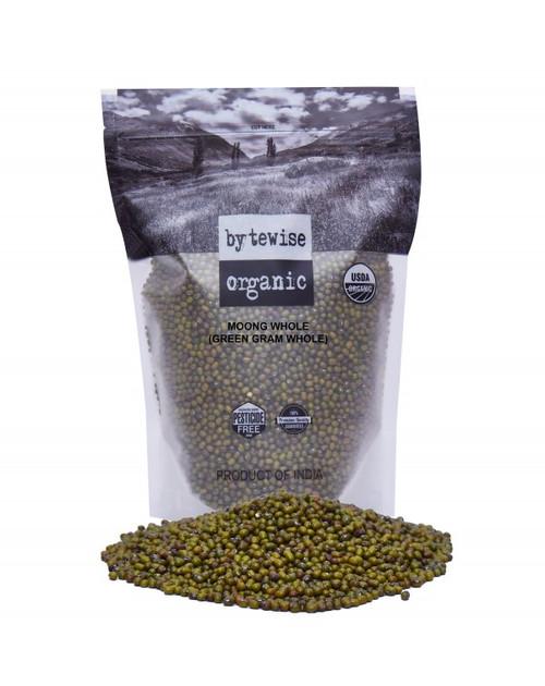 Bytewise Organic, Mung Beans Whole