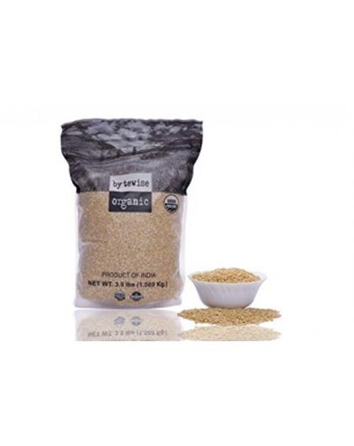 Bytewise Organic, Green Gram Split Dehusked Lentil / Mung Beans Split / Mung Mogar