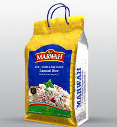 Marwah, Basmati Rice (Extra long Grain) - 10lb