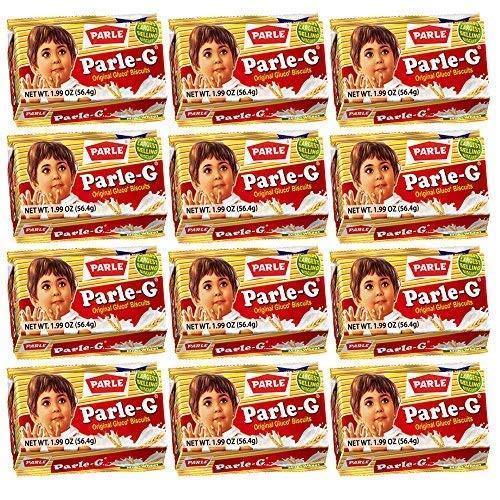 Parle-G Biscuits 56.4 Grams (48 pack)