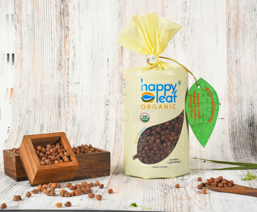 Happy Leaf,  Organic, Chana Whole  - 3.5LB