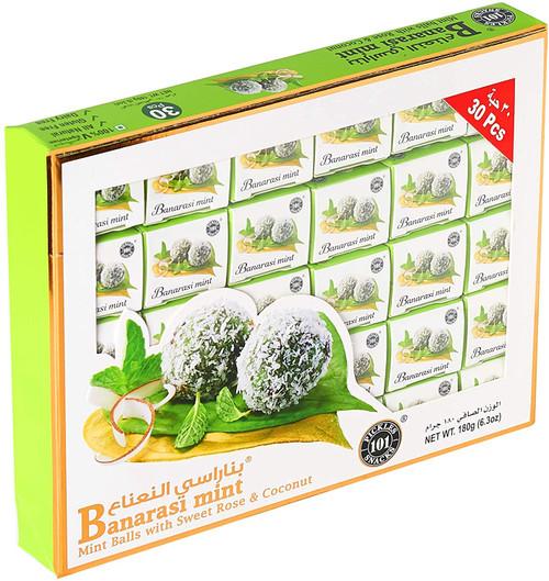 Banarasi Mint Paan -  Mouth Freshener - 180gm (1 x 30 pcs)