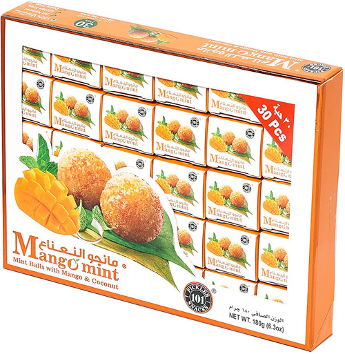 Banarasi Mint Paan - Mouth Freshener (Mango Mint, 1 x 30)