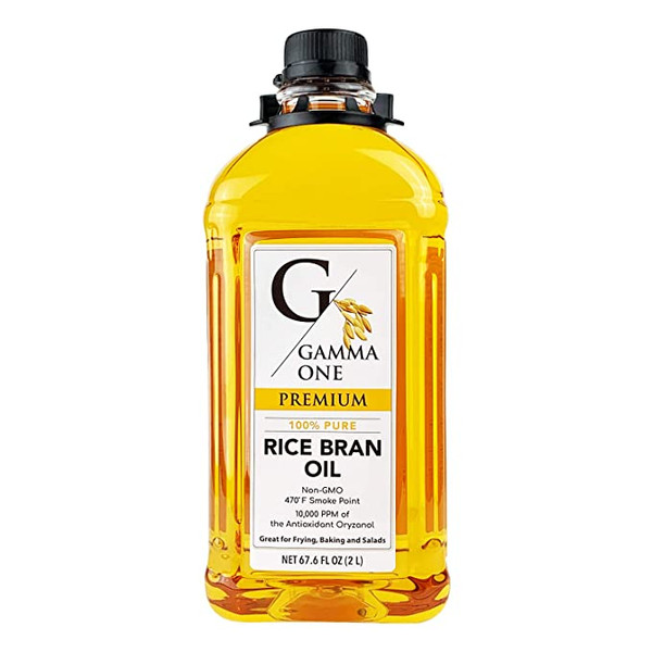 Gamma One 100% Pure Rice Bran Oil