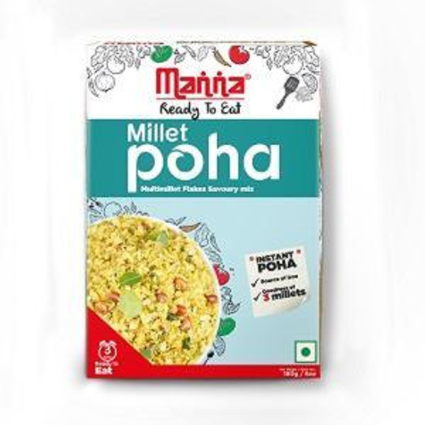 Manna, Ready to Cook Millet Poha- 180gm