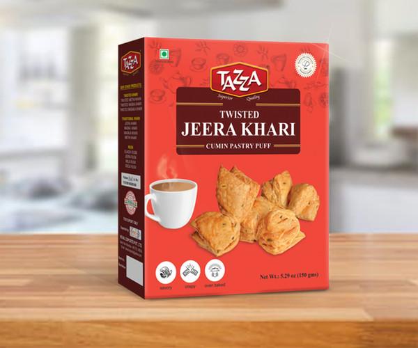 Tazza, Twisted Jeera Khari - 150gm