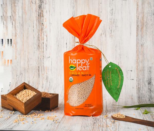 Happy Leaf,  Organic, Urad Gota  - 3.5LB