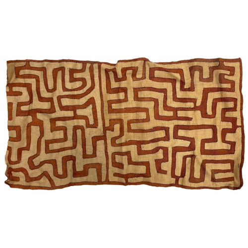 Kuba Cloth, Textile From the Kuba Kingdom of Central Africa (1)