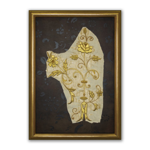 Ecclesiastical Embroidery, Goldwork Vestments Detail for St. Therese of Lisieux (3)