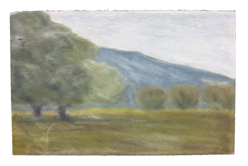 """""""A Meadow in The Valley"""" Landscape Painting by Roy Grillo (SOLD)"""