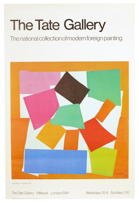 Henri Matisse - The Tate Gallery, Original Exhibition Poster (SOLD)