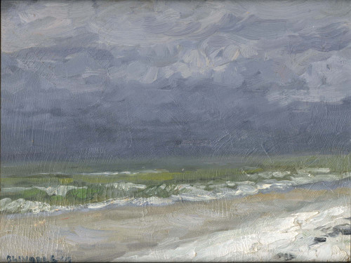 """Incoming Storm"", Original Oil Painting by Brooke Olivares"