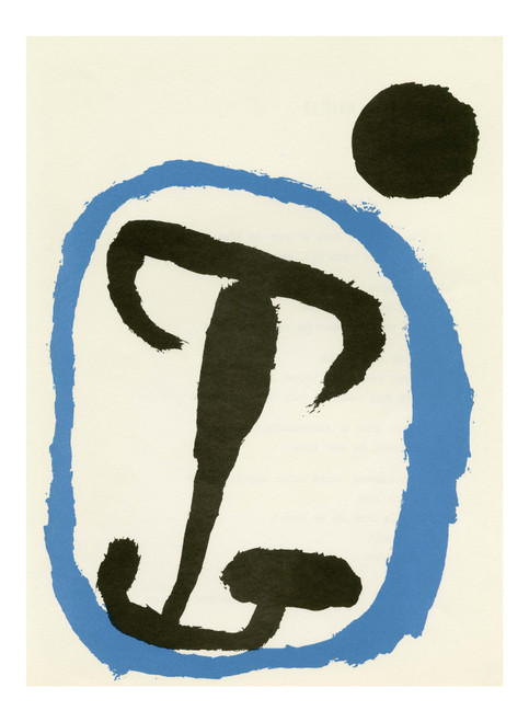 """Original Lithograph by Joan Miro From """"Derriere Le Miroir """", 1956"""