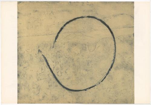 """Loop"", Original Lithograph by Francois Fiedler, Circa 1967"