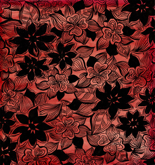 Original French Fabric/Tapestry Design by Arthur Litt