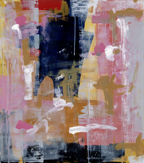 """As You Please"", Original Contemporary Abstract Painting"