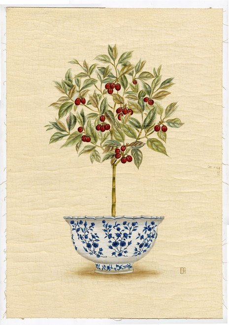 Original Handpainted Panel From Iksel Decorative Arts (SOLD)