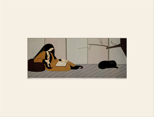 """Aurora (1977)"", Vintage Offset Lithograph After Will Barnet"