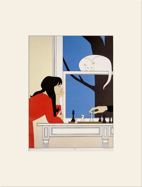 """""""Seventh Season (1975)"""", Vintage Offset Lithograph After Will Barnet"""